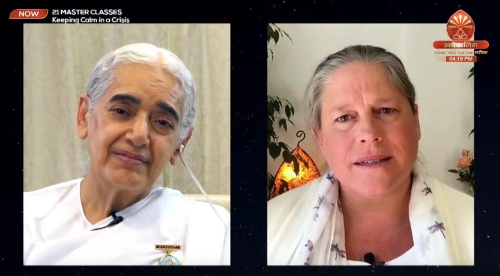21 Masters Classes Sr Jayanti et Philippa Blackham