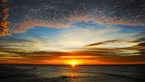 Dawn, contentement, rayonne