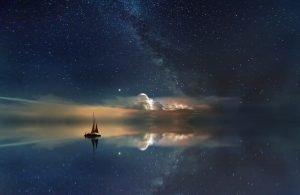 ocean, meditation, concentration