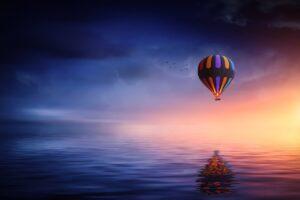hot-air-balloon, prevoir, imprevisible