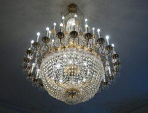 chandelier, vertu, diamant