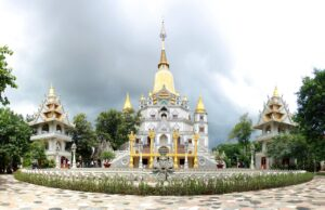 Pagode, temple doré